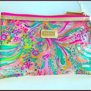Lilly Pulitzer cosmetic bag NWOT